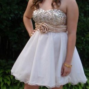 Special occasion dress- worn for an 8th dance